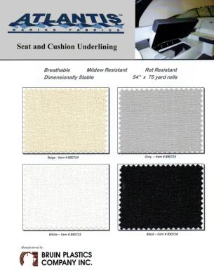 Atlantis Seat Cushion Underlining